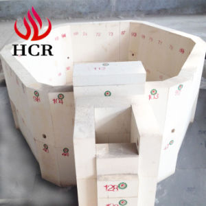 High Quality Fused Cast Azs Refractory Block for Electric Glass Melting Furnace