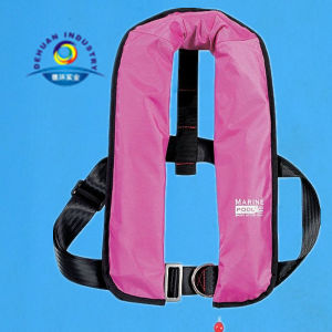 Inflatable Life Jacket with Auto or Manu Type 150n