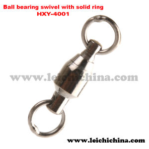 Wholesale Fishing Ball Bearing Swivel with Solid Ring pictures & photos