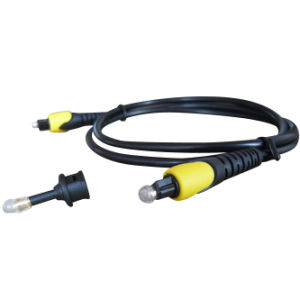 High Quality Double Color Molding Toslink Cable Ax-F456A-Y