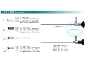 Rigid Endoscope-Sinuscopy Endoscope pictures & photos