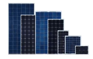 High-Efficiency 105W Mono Crystalline Solar Panel pictures & photos