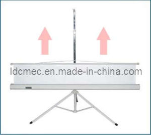 Tripod Projection Screen, Pull-up Projector Screen, Foldable Projection Screen pictures & photos