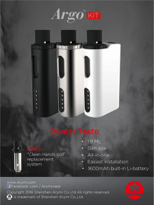New Product Kangertech Argo Starter Kit 1600mAh