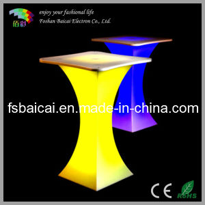LED Hotel Cocktail Tables with Light