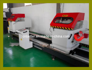 PVC and Aluminum Window Door Machinery Double Head Precision Cutting Saw (LJZB-500X4200)
