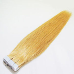 Tape Hair for 100% Indian Human Hair Extension