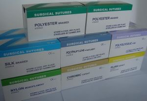Absorbable Surgical Suture with Needles (All Type, Size and Requirement Can Meet)