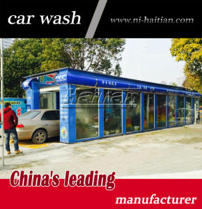 Quick Car Wash >> China 11 Brushes 4 Dryer Automatic Tunnel Quick Car Wash