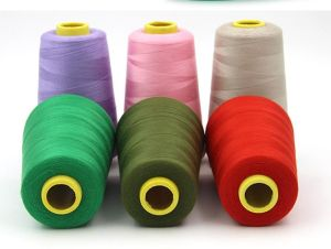 100% Polyester Organic Embroidery Thread, Drawn Thread Embroidery