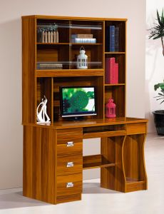 Modern Style Computer Bookcase Bedroom Furniture pictures & photos