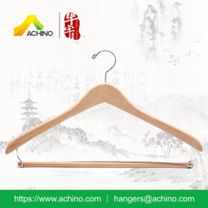 Wooden Contoured Clothes Hanger (WCJS100-Natural) pictures & photos