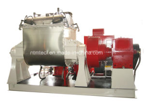 PLC Control Vacuum Kneader for Rubber, Sealant, Carbon, Ink, Plasticine Mixing with Pneumatic Lid Sealing pictures & photos