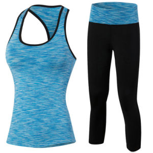 Customize Yoga Pants Women Sexy Fitness Wear Gym Clothes pictures & photos