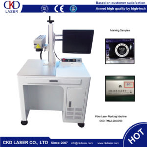 High Beam Quality Fiber Laser Marking Machine for Electrical Appliances pictures & photos