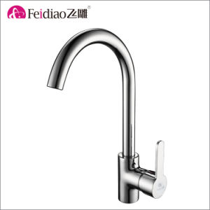 Simple Design Lead Free Healthy Single Handle Kitchen Sink Tap