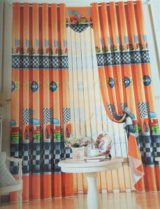 2016 Morden Polyester Texile Window Curtain Fabric EDM4837