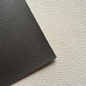PVC Lychee Grain Leather for Car Seats Hx-C1706 pictures & photos