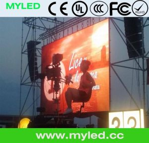 Stage Product for Event Show, Die Casting Aluminum Cabinet, LED Display for Rental