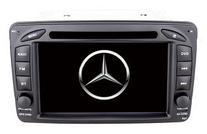 for Benz W209 Car Accessories with External Can Bus Support Bt iPod DVD GPS DVB-T USB