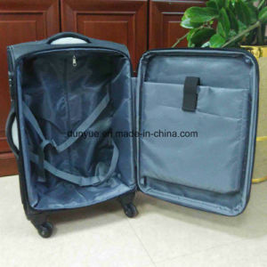 "Factory Custom Waterproof Nylon Travel Trolley Case Bag, 16"", 18"", 20"", 24""Carry-on Luggage Suitcase with Wheels"