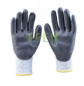 13G Shell with Ntr-Tech Palm Coated Nitrile Dots Glove (D78-G5) pictures & photos