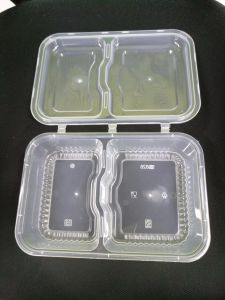 Foldable Air Tight Lunch Box Sealed Food Container Microwavable Airtight  Food Container