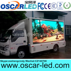 Outdoor Truck Mobile Media LED Advertising Display Screen Sign