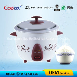 Safe Specificate Useful Low Power Drum Rice Cooker with Flower Design pictures & photos