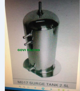 2L/2.5L Capacity Surge Tank Car Water Tank Radiator Polished pictures & photos