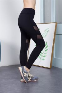 Top Selling Custom Made Plain Black Sexy Leggings Tights Compression pictures & photos