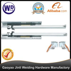 SL-2201 Clip on Two Fold Heavy Duty Soft Close Hanging Telescopic Channel Drawer Slide pictures & photos