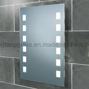 Hot Sale European Style LED Illuminated Bathroom Mirror with Fog Free pictures & photos