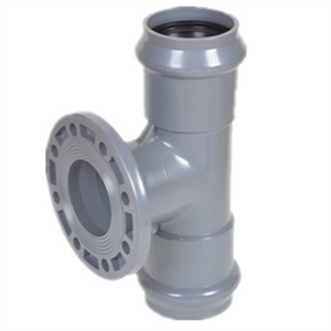 PVC Tee with Flange End F/F pictures & photos
