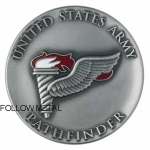 Collection Coin for United States Army Pathfindertag Toy