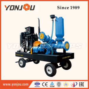 "Dry Prime Series (4"") Vacuum Assisted Centrifugal Trash Pump pictures & photos"