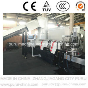 Waste Film Pelletizing Granulating Machine for PP Woven Bag Recycling pictures & photos