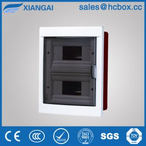 Plastic Distribution Board Switch Box One Door MCB Box Hc-Lf 16ways pictures & photos