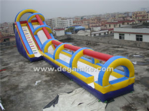 "Giant Inflatable Water Slide with Slip ""N"" Slide Combo for Amusement Park"