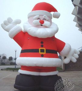 Christmas Santa Claus Inflatable Decoration