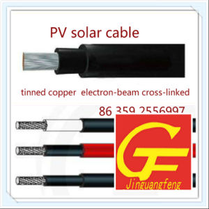 Certification PV1-F 4mm2/6mm2 PV Solar Cable