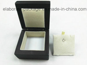 Two Point Hing Wooden Box Removeble Inner Design Jewellry Mini Box pictures & photos
