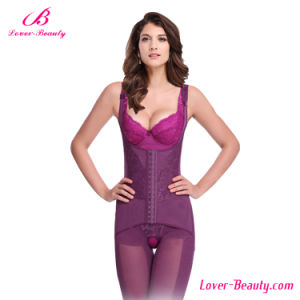 Erogenous Purple Lace Full Body Shaper for Women