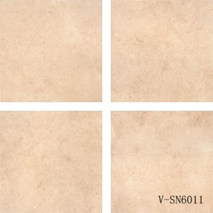 China New Design Porcelain Non-Slip Cement Yellow Rustic Floor Tile (600X600mm)