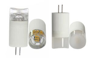 220V G4 Bi Pin LED Bulb 2W Clear / Frosted Cover