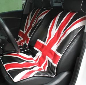 Union Jack UK Flag Car Cushions Seat Cover