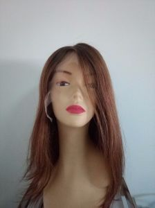 Indian Remy Hair T Color Front Lace Wig for Women