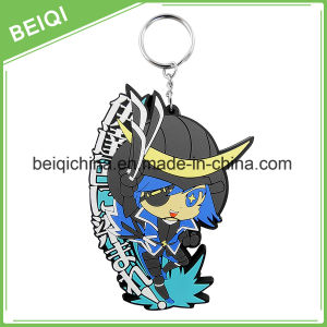 Wholesale OEM Promotional Gifts PVC 3D Keychain pictures & photos