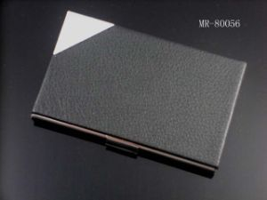 Cheap Promotion PU/Genuine Leather Card Holder