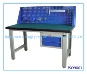 Professional Sheet Metal Working Table, Working Table China Fabricator, Work Table with Brushed Finish pictures & photos